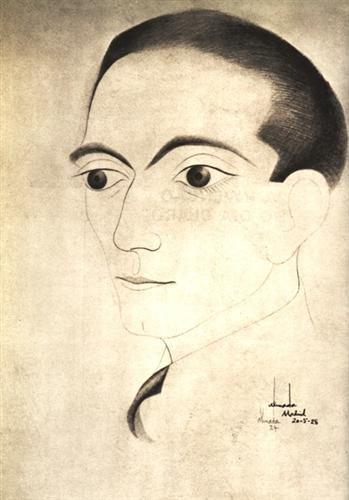Self-Portrait - Jose de Almada-Negreiros