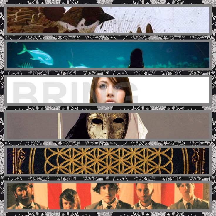 All the BMTH album covers