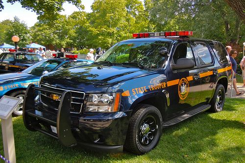 NY State Police SUV | NY State Police Chevrolet SUV on displ… | Flickr