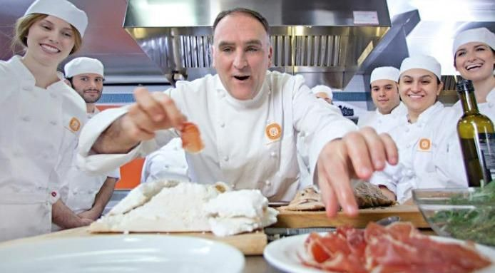 264 best images about famous chefs on pinterest for Fish by jose andres menu