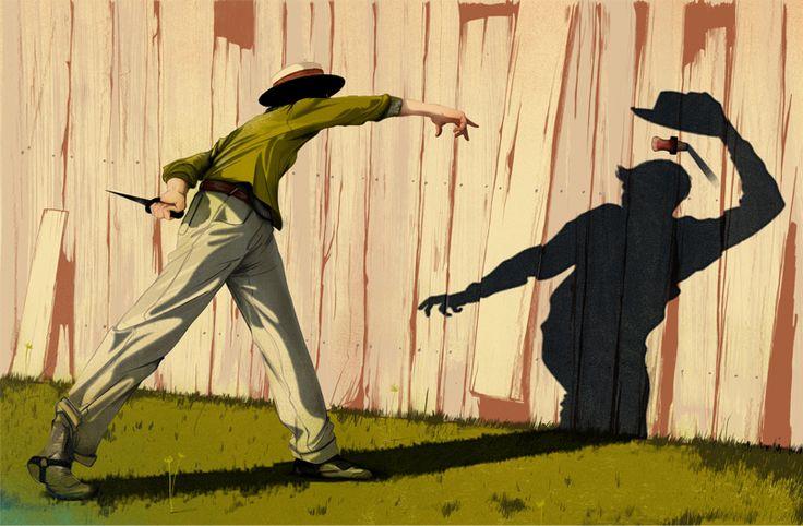 Lucky Luke, inverted - by Jonathan Bartlett