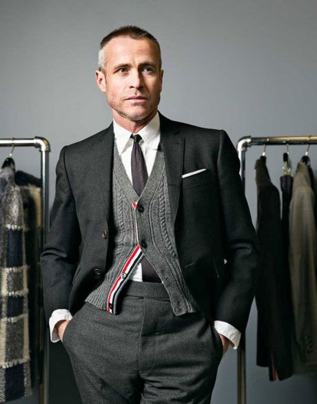 Mr. Browne // #thombrowne #menswear #suit
