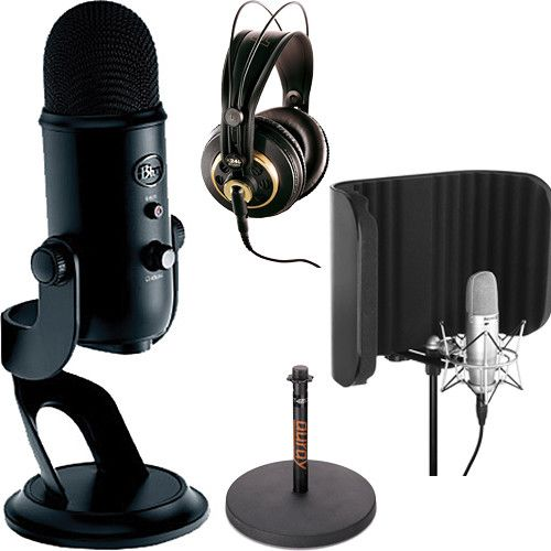 Blue Yeti USB Microphone Podcast Kit