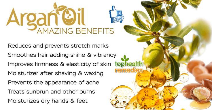 Health Benefits Of Argan Oil  http://www.tophealthremedies.com/