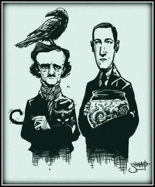 Edgar Allan Poe & H. P. Lovecraft                                                                                                                                                                                 More