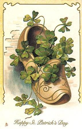 vintage st patricks day cards | Free St. Patrick's Day Clipart