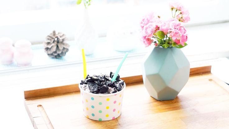 Oreos & Kokosmilch: Mega leckeres Eis mit nur 2 Zutaten selber machen!