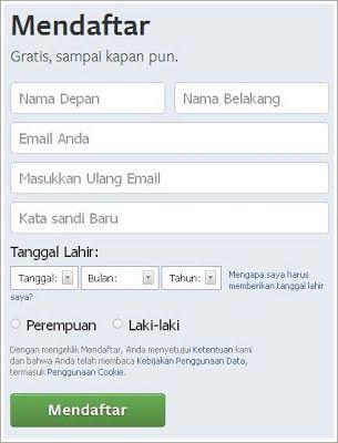 Tutorial Cara Daftar Facebook dan Twitter Untuk Anda: http://satoshi48.blogspot.com/2013/04/cara-membuat-akun-facebook-dan-twitter-baru-punya-sendiri.html