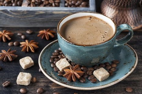 Марокканский горячий кофе