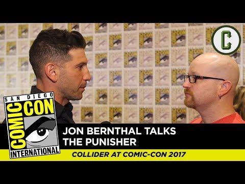 Jon Bernthal Talks The Punisher - Comic Con 2017 - YouTube