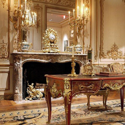 """""""Many in America believed implicitly that New York's social leaders went to bed in full evening dress brushed their teeth in vintage champagne married their daughters without exception to shady French counts and arrayed their poodle dogs in diamond tiaras."""" #opulent #opulence #grand #grandeur #baroque #rococo #beauxarts #neoclassical #architecture #taste #class #style #wealth #chic #posh #gilded #society #refinement #gildedage #interiordesign #gold #design #regal #splendor by aidennyc"""