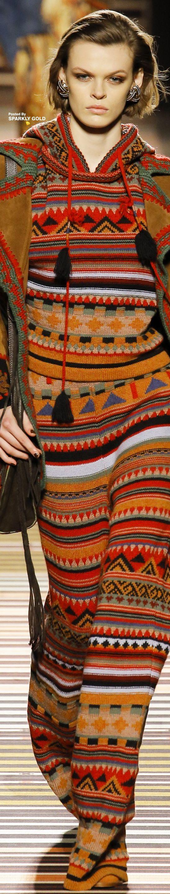 knit inspiration  Etro Fall 2018 RTW
