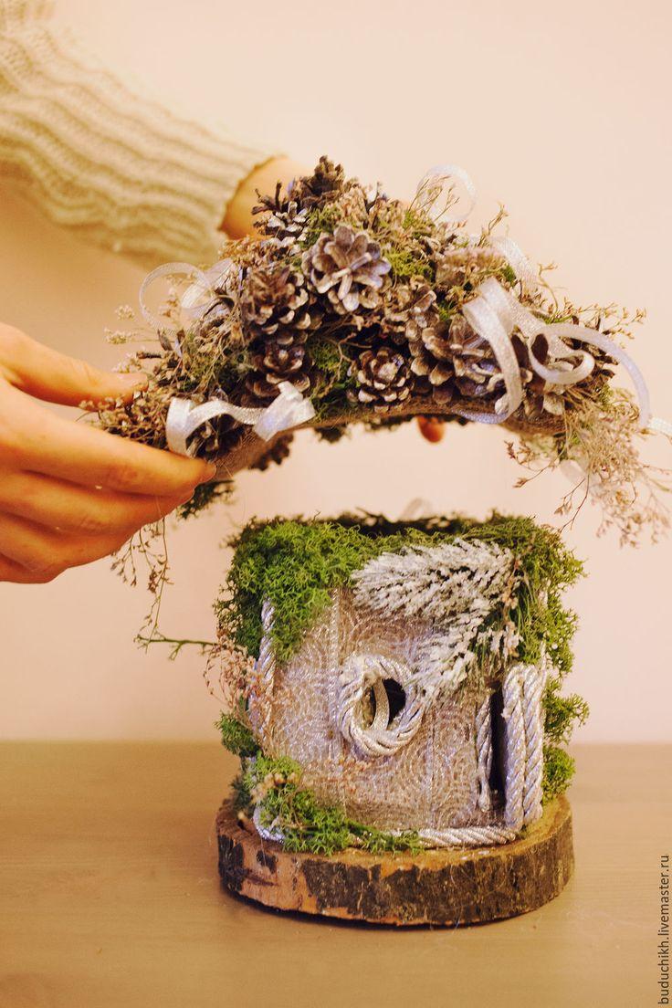 Купить Новогодняя сказочная изубушка - комбинированный, домик, домики…