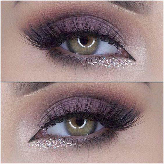 73 atemberaubendsten Glitter Eyeshadows Idee Augen Make-up, das Sie für Abschlu
