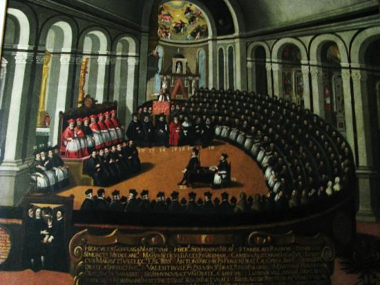 The Council of Trent Buonconsiglio Castle Museum Photo: The Council of Trent