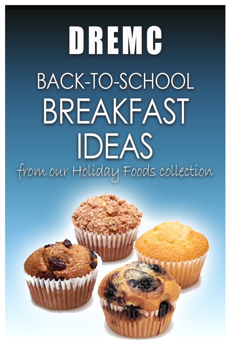 For easy and nutritious breakfast ideas for the busy back-to-school days, try these recipes courtesy of Duck River Electric Membership Corporation and our Holiday Foods program!
