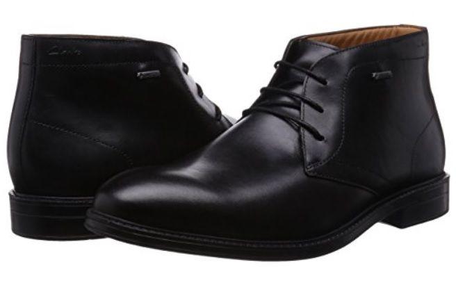 Botas Cuero negro Clarks #Botas #Calzado #ModaAmazon #ModaHombre #Outfit #Men #Hombre #clarks