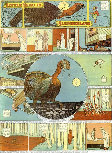 A page from the Little Nemo comic strip by Winsor McCay