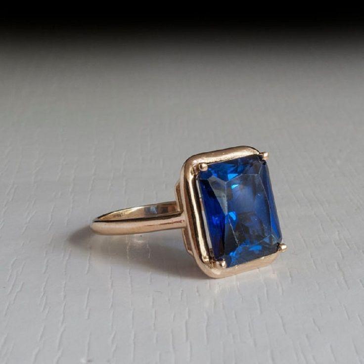 Engagement Ring 2.50 ct  Rectangle Cut 18 k Yellow Gold Blue Tanzanite Gemstone  #GoldJewellery17 #Solitaire