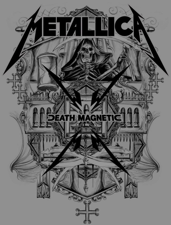 Metallica ~ Death Magnetic by Rafal Wechterowicz