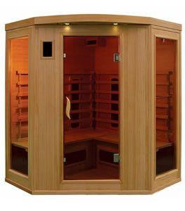 Eco Far Infrared Sauna for 4 People (Corner Unit)