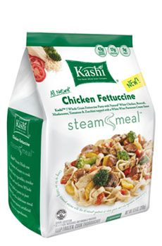 great for work meals during the week - all natural ingredients, low sodium, high in whole grains, fiber, and protein! only 270 calories per meal.