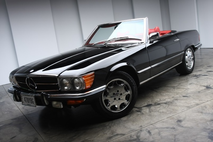 My dream car. 1972 Mercedes 450SL Convertible