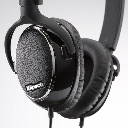 Klipsch Image ONE Premium On-Ear Earphones W/Mic - Professional grade memory foam ear-cups provide premium comfort and noise isolation. Full music and/or voice control on select Apple products and Echo-cancelling 360 degree mic.
