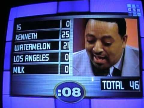 England is a city? A kiwi is RED inside? KENTUCKY FRIED CHICKEN!!!?!!!?? Just watch and laugh!  Thanks!  Note:  Family Feud was created by Mark Goodson and Bill Todman. All credit goes to FremantleMedia, Ltd, JUST POSTING TO SHOW PEOPLE.