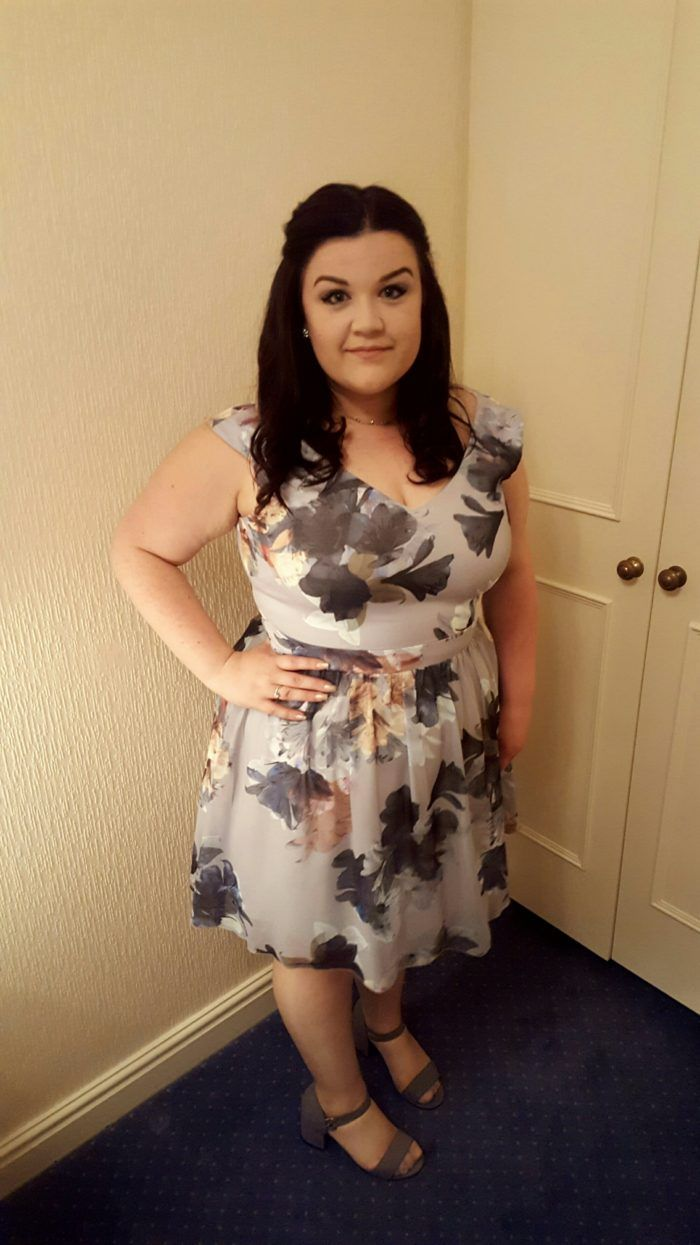 Plus Size wedding guest - Little Mistress Curve dress from Simply Be!