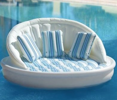 Blow up your couch – The Inflatable Pool Sofa on http://www.onemoregadget.com    This one is for Bridget