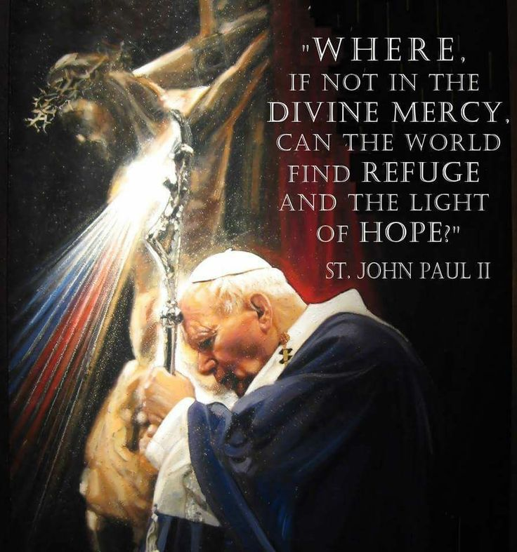 St. John Paul II - The Divine Mercy