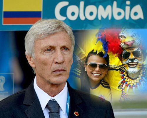 Fotomontajes con Pekerman el director tecnico de colombia.
