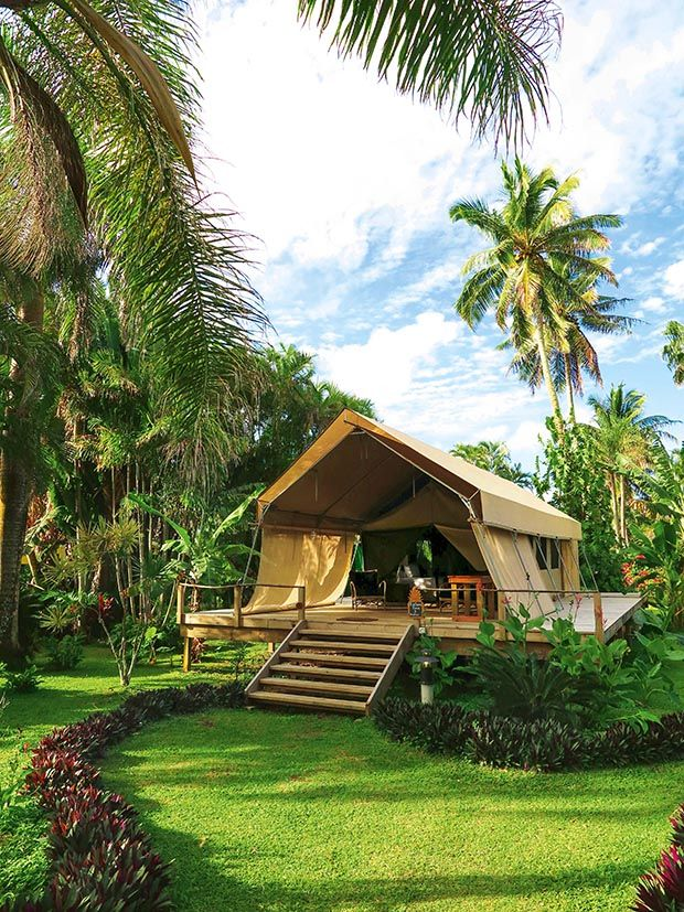 #ikurangiecoretreat #cookislands #rarotonga #island #getaway #retreat #luxury #tent #safaritent #glamping