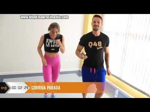 Pernas e bumbum durinhos em 4 minutos [Q48 TREINO COMPLETO] - YouTube