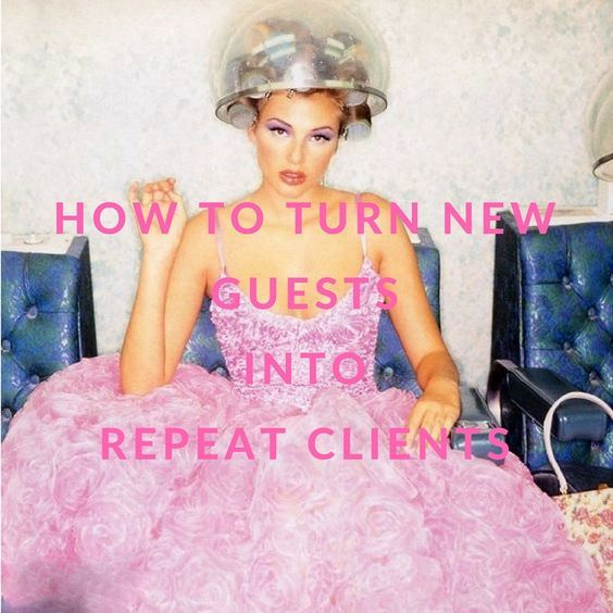 """Do you find that most of your salon or spa clients are regulars or """"one-offs""""? How do you convert more of those one-time only clients into regular guests? Get them connected! Not sure how to get connected, here are some ideas!"""