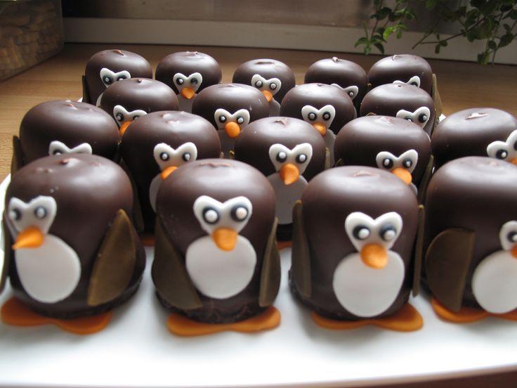 pinguins van negerzoenen