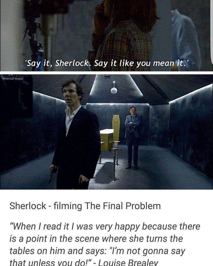 BTS Sherlock Season 4 Episode 3 TFP S04 E03.