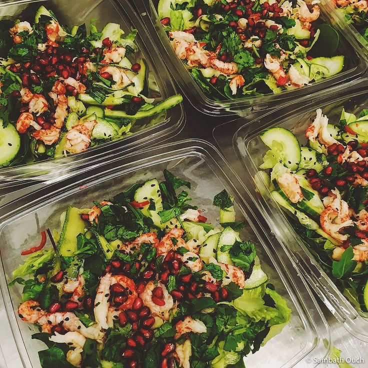 Crayfish Pomegranade from Chop'd (London) © Sambath Ouch
