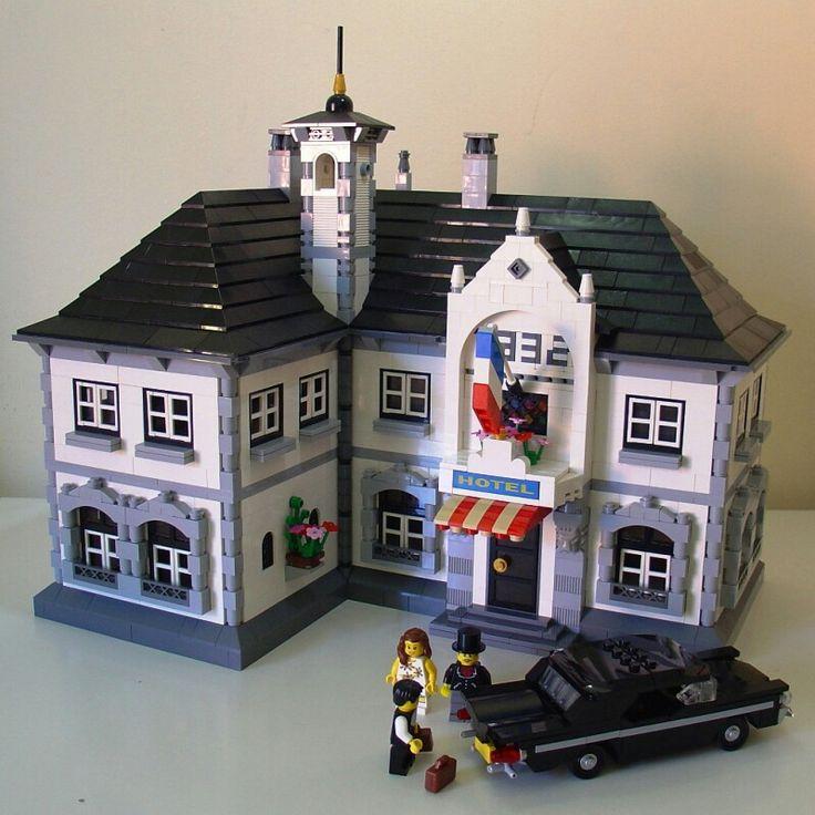 308 besten lego houses bilder auf pinterest lego haus. Black Bedroom Furniture Sets. Home Design Ideas