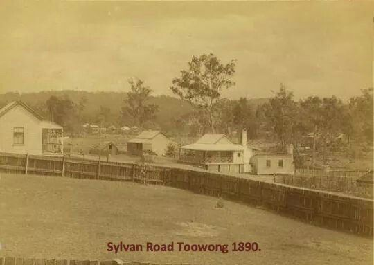 Sylvan Rd in Toowong, Queensland in 1890.