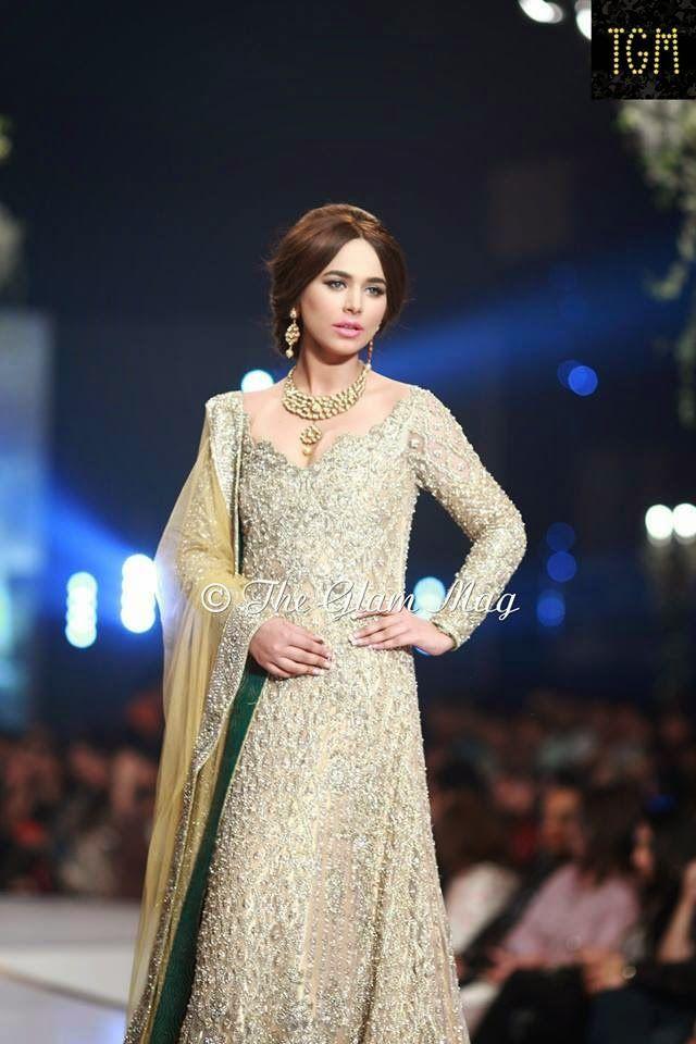 Faraz Manan Bridal Collection At Pantene Bridal Couture Week 2014 Karachi   PakiChill