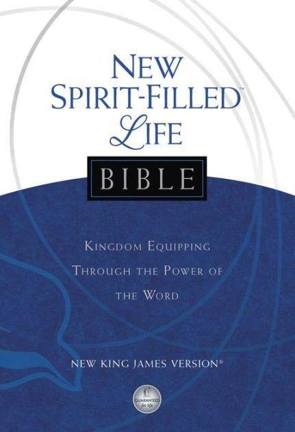 NKJV New Spirit-Filled Life Bible-Hardcover