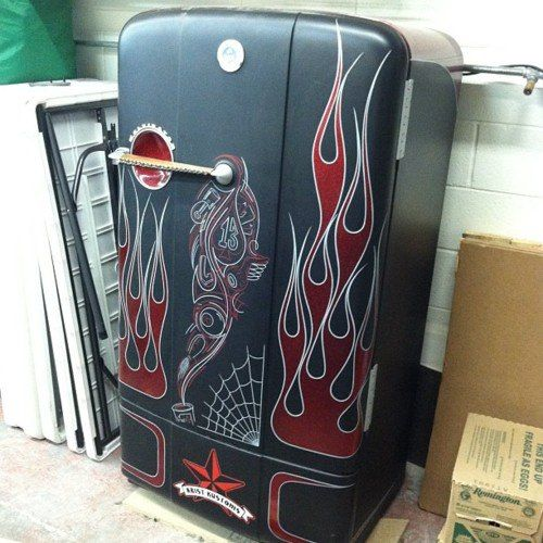 Rat Rod Fridge