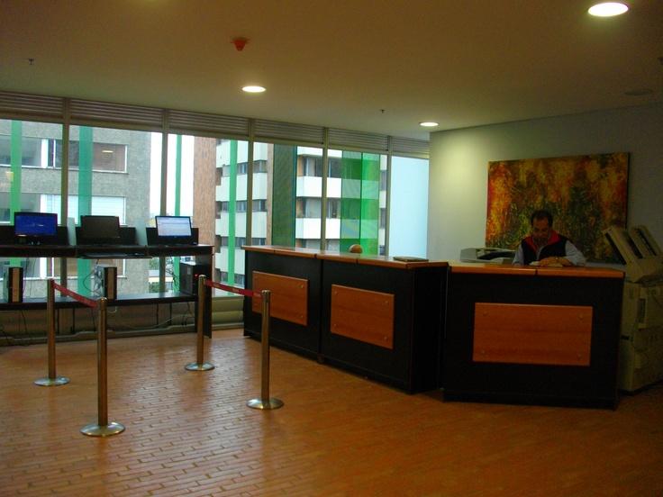 Centro de copiado para estudiantes. Universidad EAN. Bogotá, Colombia -Suramérica-