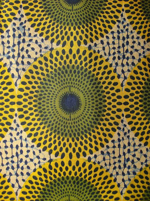 #Mosaic and #Design Inspiration: African prints as an inspiration and foundation for design throughout your home.-TMC