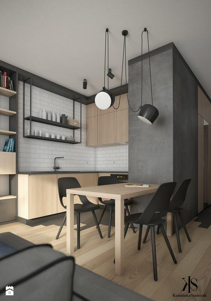Mieszkanie w Warszawie - Kuchnia - zdjęcie od KamińskaStańczak - Kuchnia - Styl Nowoczesny - KamińskaStańczak