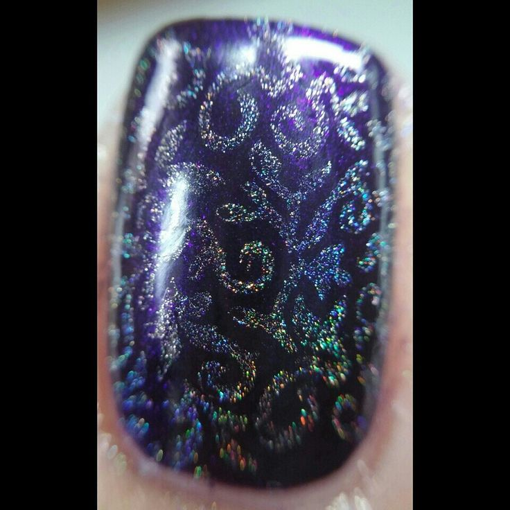 Zoom holo stamping