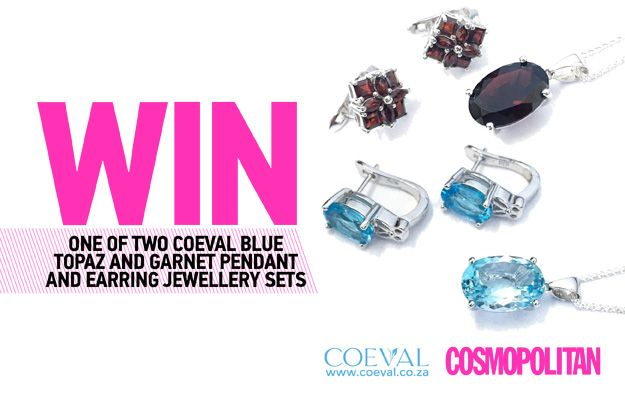 WIN One of 2 Pendant-and-Earrings Sets Worth R4 200 from Coeval
