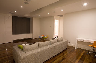 Upstairs family area for our Lightsview Terrace Display Home, open by appointment.